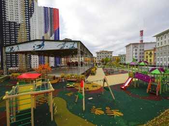 Спортивная и игровая детская площадка